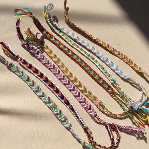 Handmade Embroidery Bracelets